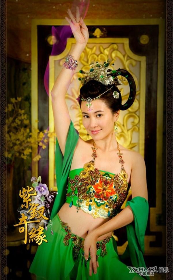 Đốt mắt với tạo hình cổ trang khoe vai trần của mỹ nữ Hoa ngữ - Ảnh 8.