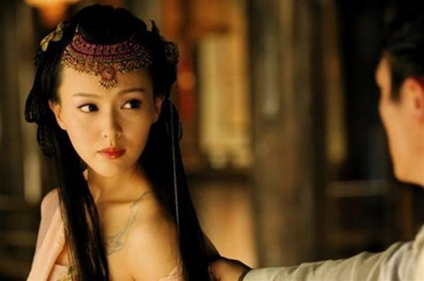 Đốt mắt với tạo hình cổ trang khoe vai trần của mỹ nữ Hoa ngữ - Ảnh 9.
