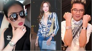 Sao Việt và những dáng pose hình cố tình khoe khéo phụ kiện tiền tỉ