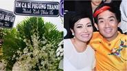 Phương Thanh gửi vòng hoa, không kịp về nhìn mặt Minh Thuận lần cuối