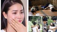 Facebook 24h: Phạm Hương phải nhịn ăn, lấy 7 ống máu - Ngọc Lan bị trói, đâm ngất xỉu