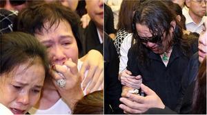 Mẹ nuôi Minh Thuận ngã gục khi tiễn biệt con trai