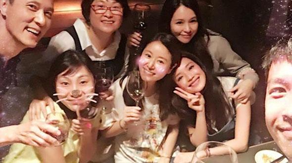 Lâm Tâm Như bị chỉ trích vì uống rượu khi đang mang thai