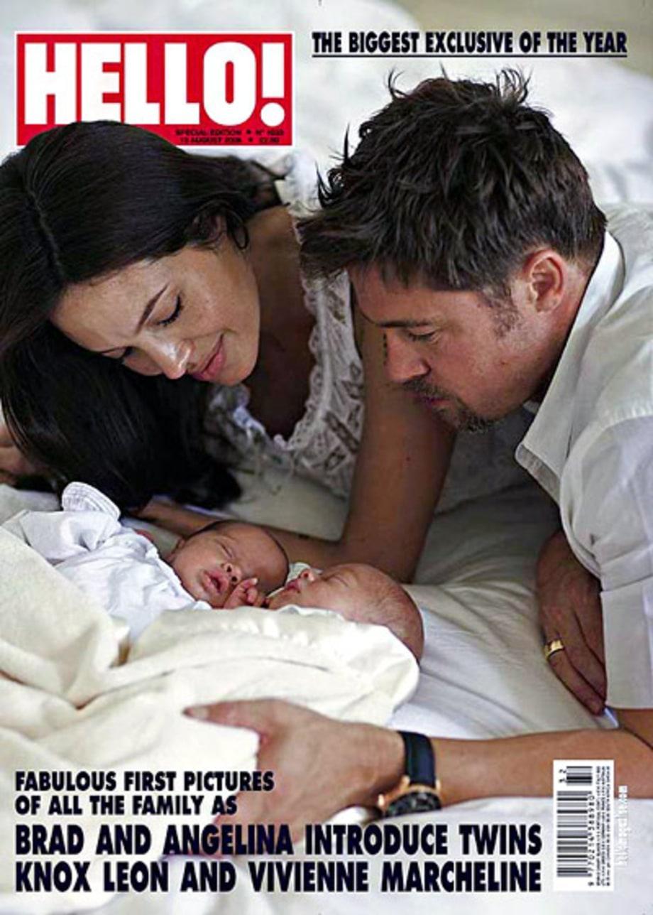 Tháng 7/2008, cặp song sinh 1 trai 1 gái chào đời