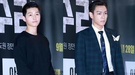 Song Joong Ki mặc đơn giản vẫn nam tính không kém Big Bang T.O.P
