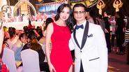 Vợ chồng Bebe Phạm và Dustin Nguyễn gây chú ý tại LHP Kim Kê Bách Hoa