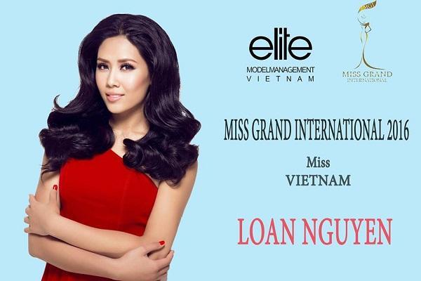 Nguyễn Thị Loan bất ngờ được chọn thi Hoa hậu Hòa bình Quốc tế 2016.