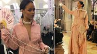 Mặc nội y đi giày thể thao? Rihanna vừa cho ra đời show Fenty x Puma như thế đấy!