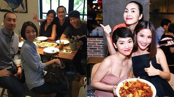"""Facebook 24h: Vợ chồng Hà Tăng mỗi người một nơi """"quẩy"""" tưng bừng cùng bạn bè"""