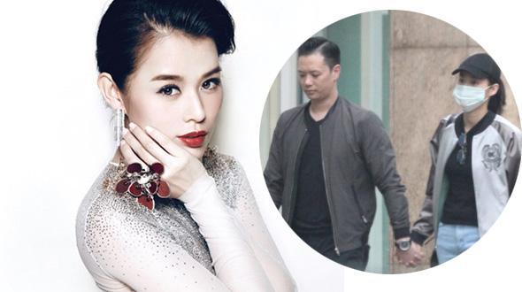 Lộ clip vợ chồng Hồ Hạnh Nhi giả vờ thân mật nơi công cộng khi tin đồn ly dị bủa vây