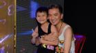 Con trai Đàm Vĩnh Hưng tới cổ vũ bố tập luyện siêu show