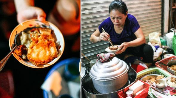 Ngày Hà Nội mát trời, đi ăn xôi ở 3 hàng vỉa hè