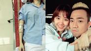 Trấn Thành cập nhập tình hình sức khỏe của bạn gái Hari Won sau mổ