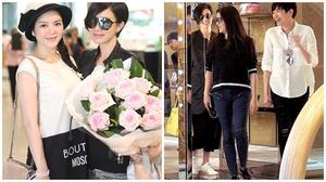 Đi mua sắm cùng Xa Thi Mạn, Lý Nhã Kỳ lên báo Hồng Kông