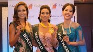 Nam Em tiếp tục giành huy chương Bạc tại Hoa hậu Trái đất 2016