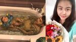 FB 24h: Vân Trang tái xuất sau sinh - Ưng Hoàng Phúc công khai tắm bồn cùng con trai