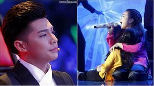 TVK: Noo Phước Thịnh rơi nước mắt khi học trò hát về đồng bào miền Trung