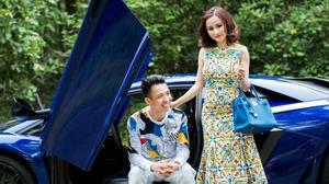 Minh Nhựa quay clip hẹn hò với vợ trên Lamborghini lãng mạn như phim Hàn