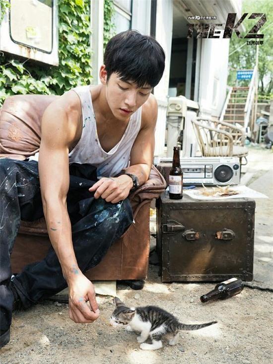 Ji Chang Wook trong vai chàng vệ sĩ Kim Je Ha - The K2.