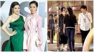 Báo Hong Kong đưa clip Lý Nhã Kỳ đi mua sắm cùng Xa Thi Mạn