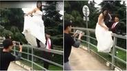 Những điều bạn chưa biết đằng sau một bộ ảnh cưới lung linh