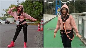 Hòa Minzy thử thách với trò chơi mạo hiểm hàng đầu thế giới