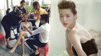 """FB 24h: Hoàng Thùy Linh được phục vụ sang chảnh như Cheon Song Yi của """"Vì sao đưa anh tới"""""""