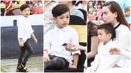 Subeo dễ thương cùng Hồ Ngọc Hà tham dự sự kiện tại Hà Nội