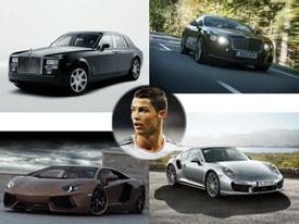 Định giá dàn xế khủng của chân sút Cristiano Ronaldo