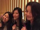 Rộ tin Thư Kỳ mang thai ở tuổi 40, uống rượu mừng cùng Lâm Tâm Như