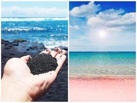 Những bãi biển có màu sắc lạ lùng