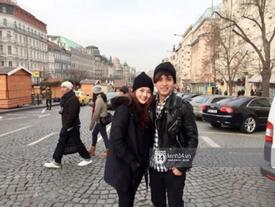 """Cặp đôi mới của Vbiz Hồ Quang Hiếu - Bảo Anh tiết lộ những hình ảnh """"hôn nhau đi khắp thế gian"""""""