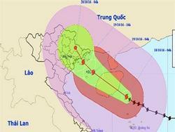 Bão tấn công Quảng Ninh-Hải Phòng, chiều nay miền Bắc mưa to
