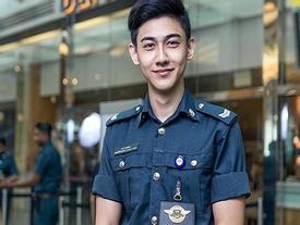 Chàng cảnh sát nổi tiếng mạng nhờ ảnh chụp lén đẹp trai