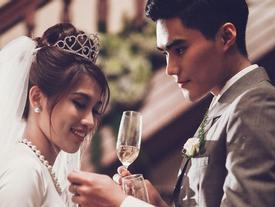 """Lộ """"thiệp cưới"""" của Quang Hùng - Quỳnh Châu Next Top"""