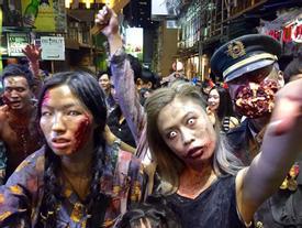 """""""Tận mục"""" điểm chơi lễ hội Halloween sôi động bậc nhất ở châu Á"""