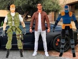 Ảnh chế cực hài Cristiano Ronaldo bên Lamborghini
