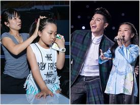 Vắng Noo Phước Thịnh, Mai Anh một mình luyện tập chờ Chung kết The Voice Kids