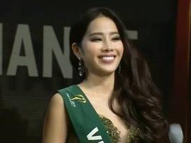 Nam Em dừng chân ở top 8 Miss Earth vì gặp phải thông dịch viên dở tệ