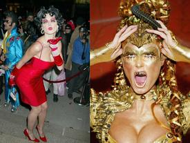 Luôn hóa trang cực độc và kỳ công, đây đích thực là nữ hoàng Halloween của Hollywood