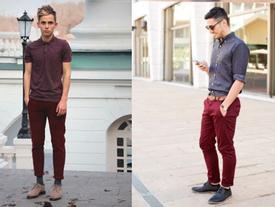 """Thời trang nam: Xu hướng quần Chinos """"đăng cơ"""" thu đông 2016"""