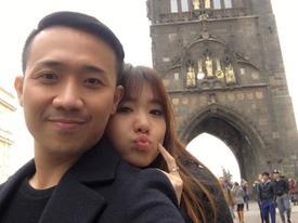 Trấn Thành và Hari Won đi vòng quanh Châu Âu để... bán đĩa