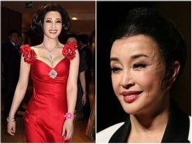 Gương mặt nhăn nheo phát sợ của 'Võ Tắc Thiên' Lưu Hiểu Khánh
