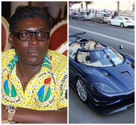 Bộ ba siêu xe triệu đô của con trai Tổng thống Guinea Xích đạo bị tịch thu