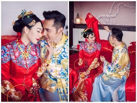 """""""Quả bom sex gốc Việt"""" Chung Lệ Đề tổ chức đám cưới lần 3 cùng tình trẻ kém 12 tuổi"""