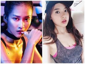 """Hot girl Việt """"sexy muôn phần"""" trong phòng tập gym"""