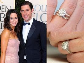"""Choáng với bộ sưu tập nhẫn đính hôn """"chất phát ngất"""" của các ngôi sao"""