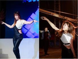 Khán giả nhảy nhót khi Hari Won cover Roly Poly của T-Ara