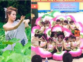 Clip: Nhóm học sinh múa Bánh trôi nước của Hoàng Thùy Linh không thể tuyệt hơn