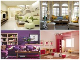 Bí quyết vàng để chọn màu sơn đẹp cho phòng khách